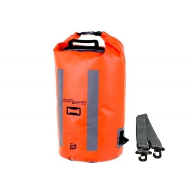 OVERBOARD W/P PRO VIS DRY BAG 20L HI-VIS ORANGE product image